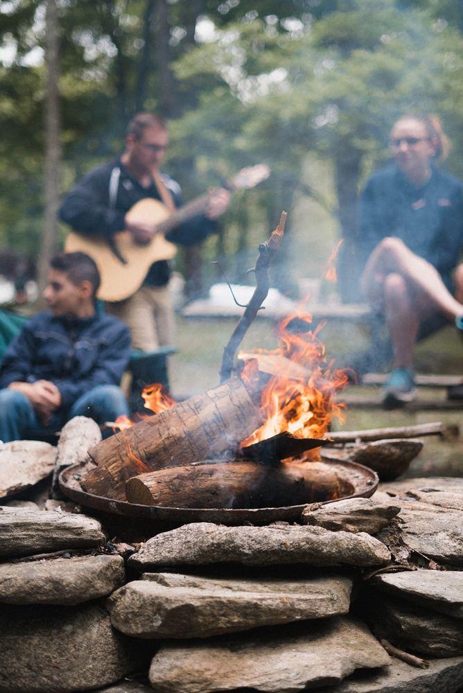 Camping er en perfekt sommeraktivitet